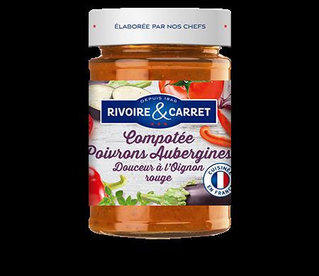 Rivoire et Carret - Sauce Compotée poivrons et aubergines