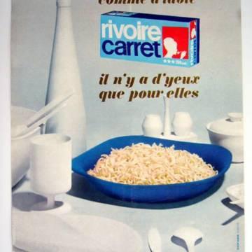 Publicité vintage Rivoire et Carret : d'yeux que pour elles