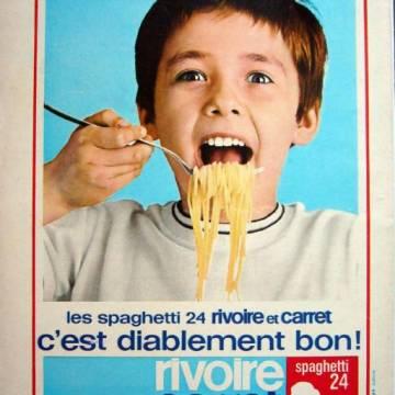 Publicité vintage Rivoire et Carret : diablement bon