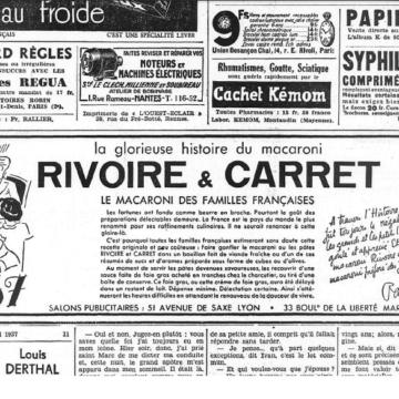 Recette ancienne Rivoire et Carret