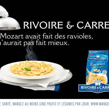 Lancement des ravioles Rivoire et Carret