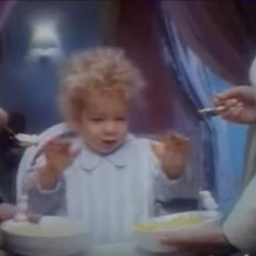 1989 - Difficile de choisir entre Rivoire et Carret - L'enfant (CLM BBDO)