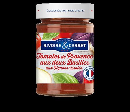 Tomates de Provence aux deux basilics